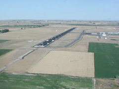 Aerial photo of KTWF (Joslin Field - Magic Valley Regional Airport)