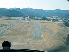 Aerial photo of R49 (Ferry County Airport)