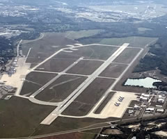 Aerial photo of KFFO (Wright-Patterson Air Force Base)