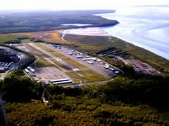 Aerial photo of PABV (Birchwood Airport)