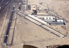 Aerial photo of KDAG (Barstow-Daggett Airport)