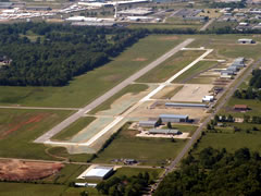 Aerial photo of KLBO (Floyd W Jones Lebanon Airport)