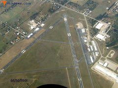 Aerial photo of KMWL (Mineral Wells Airport)