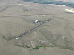 Aerial photo of KEFC (Belle Fourche Municipal Airport)