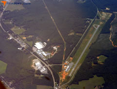 Aerial photo of 43A (Montgomery County Airport)