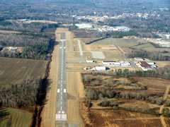 Aerial photo of KHAB (Marion County-Rankin Fite Airport)