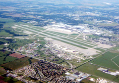 Aerial photo of KIAB (Mc Connell Air Force Base)
