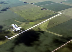 Aerial photo of KEST (Estherville Municipal Airport)