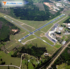 Aerial photo of KTXK (Texarkana Regional Airport-Webb Field)