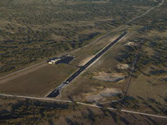 Aerial photo of KECU (Edwards County Airport)