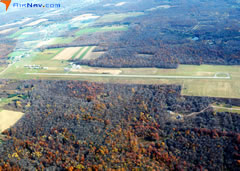 Aerial photo of 6G1 (Titusville Airport)