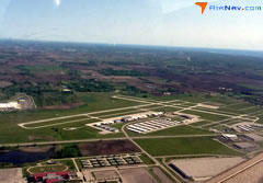 Aerial photo of KENW (Kenosha Regional Airport)