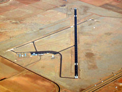 Aerial photo of KTCC (Tucumcari Municipal Airport)