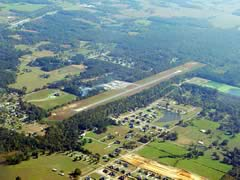 Aerial photo of 5M0 (Hartselle-Morgan County Regional Airport)