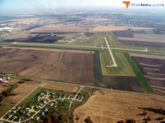 Aerial photo of KVYS (Illinois Valley Regional Airport-Walter A Duncan Field)