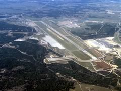 Aerial photo of KGRK (Robert Gray Army Airfield)
