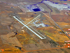 Aerial photo of KGCC (Northeast Wyoming Regional Airport)