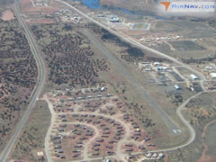 Aerial photo of KZUN (Black Rock Airport)