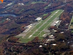 Aerial photo of KOXC (Waterbury-Oxford Airport)
