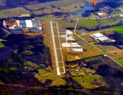 Aerial photo of KOPN (Thomaston-Upson County Airport)