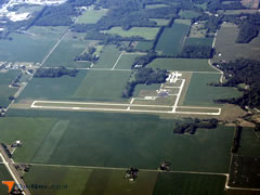 Aerial photo of KIWH (Wabash Municipal Airport)