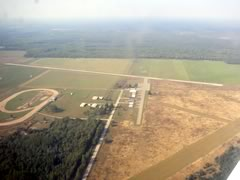 Aerial photo of KERY (Luce County Airport)
