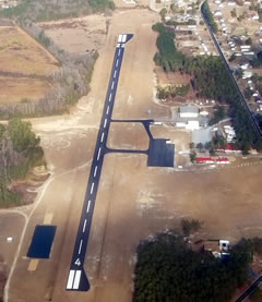 Aerial photo of 5W4 (P K Airpark)
