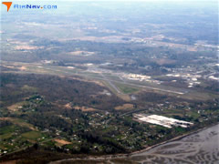Aerial photo of KBLI (Bellingham International Airport)