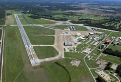 Aerial photo of KNQA (Millington-Memphis Airport)