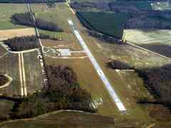 Aerial photo of KBXG (Burke County Airport)