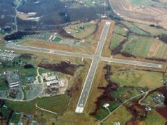 Aerial photo of KEKN (Elkins-Randolph County Airport-Jennings Randolph Field)