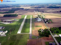 Aerial photo of KPLD (Portland Municipal Airport)