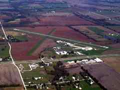 Aerial photo of KCHT (Chillicothe Municipal Airport)