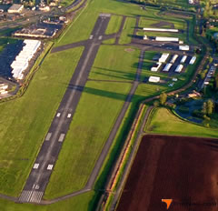 Aerial photo of KCLS (Chehalis-Centralia Airport)