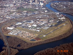Aerial photo of KHFD (Hartford-Brainard Airport)