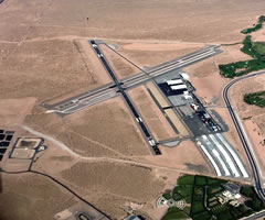 Aerial photo of KBVU (Boulder City Municipal Airport)