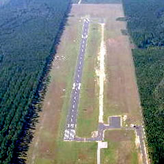 Aerial photo of 4J1 (Brantley County Airport)
