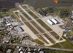 Aerial photo of KNUQ (Moffett Federal Airfield)