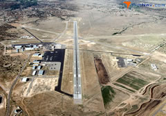Aerial photo of KSAF (Santa Fe Municipal Airport)