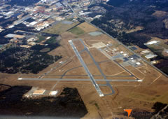 Aerial photo of KABY (Southwest Georgia Regional Airport)