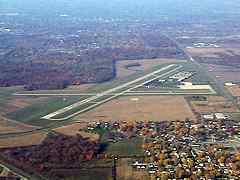 Aerial photo of KAID (Anderson Municipal Airport-Darlington Field)