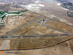 Aerial photo of KDTA (Delta Municipal Airport)