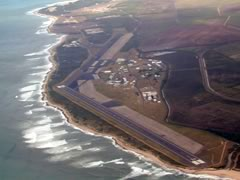 Aerial photo of PHBK (Barking Sands Pacific Missile Range Facility Airport)