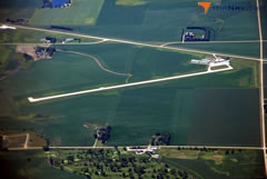 Aerial photo of KSHL (Sheldon Regional Airport)
