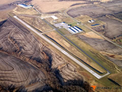 Aerial photo of KEZZ (Cameron Memorial Airport)