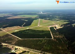 Aerial photo of KDRI (Beauregard Regional Airport)