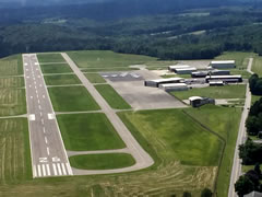 Aerial photo of KBTP (Pittsburgh/Butler Regional Airport)
