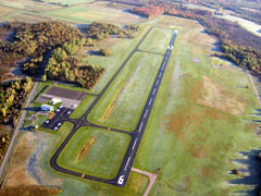 Aerial photo of KPTD (Potsdam Municipal Airport (Damon Field))