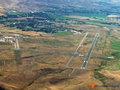 Aerial photo of KSHR (Sheridan County Airport)