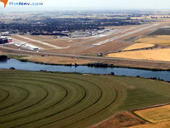 Aerial photo of KIDA (Idaho Falls Regional Airport)